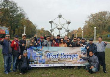 Peserta Wisata Muslim Eropa Barat