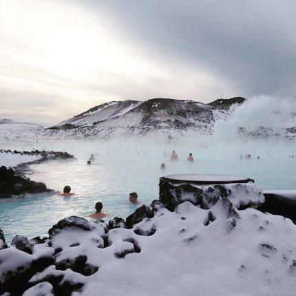 Wisata Muslim Iceland Blue Lagoon