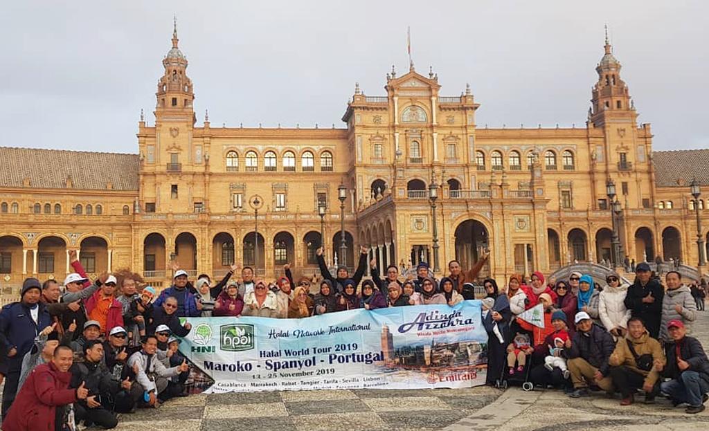 Group Tour Spanyol Maroko Portugal