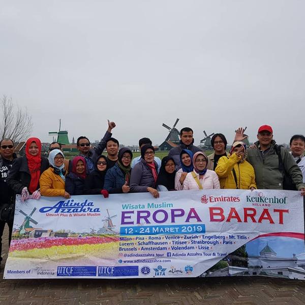 Wisata Eropa Tulip Keukenhof