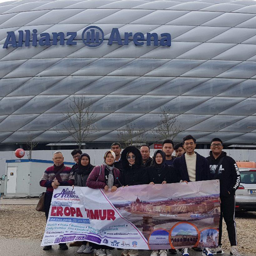 Tour Muenchen Eropa Timur