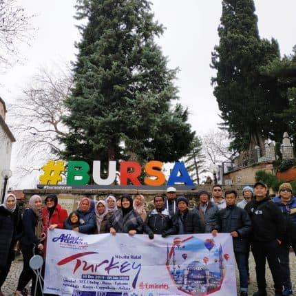 Bursa Wisata Muslim Turki